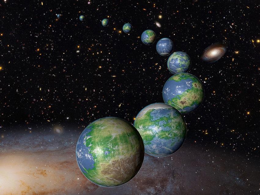 חסרי מנוח: מהירות כדור הארץ ביקום