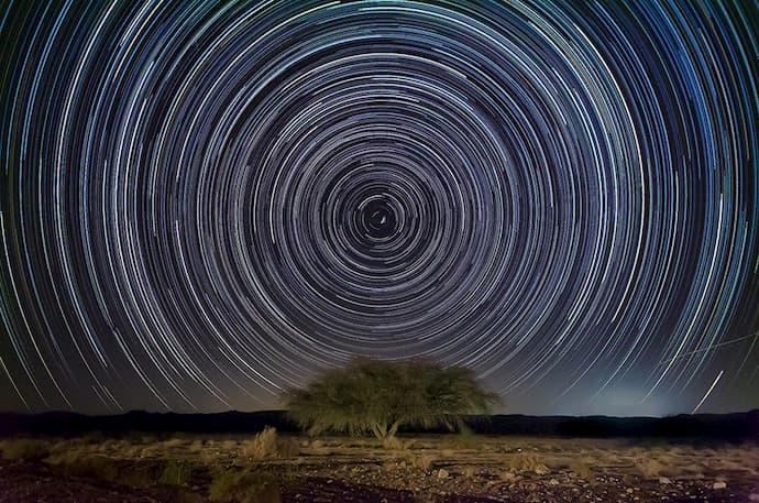 שבילי כוכבים בנחל פארן
