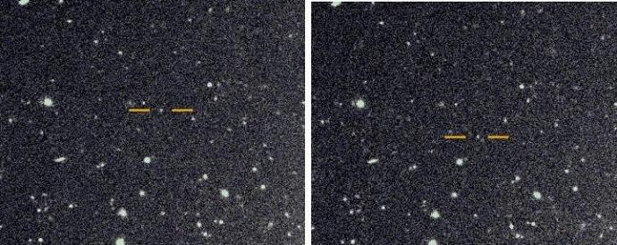 כך מגלים ירח חדש: לפי תזוזתו על רקע כוכבי השבת. קרדיט: סקוט שפרד