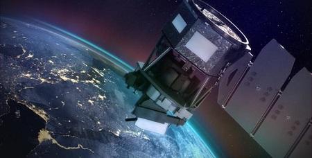 לויין מעל כדור הארץ