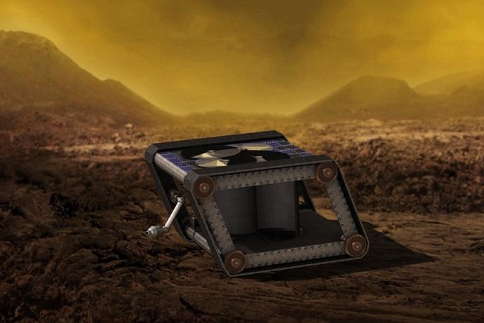 """אחד הרעיונות שנאס""""א בחנה: חללית מכנית עם מחשב ללא חלקים אלקטרוניים. קרדיט: NASA/JPL-Caltech"""