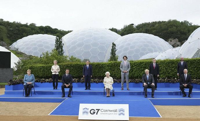 פסגת ה-G7 בקורנוול. קרדיט: Andrew Parsons / No 10 Downing Street