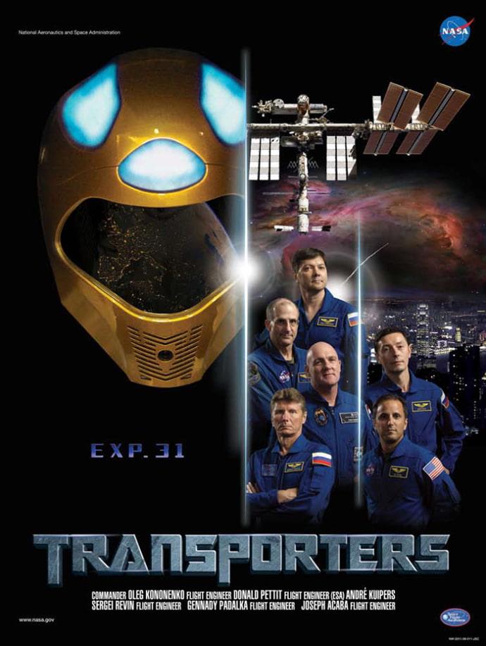 פוסטר משימה 31 לתחנת החלל הבינלאומית