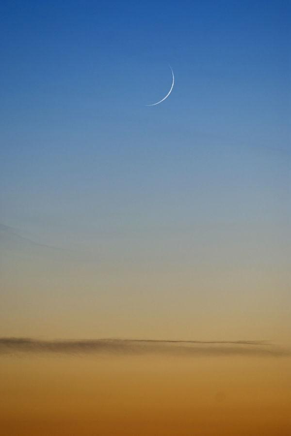 מולד הירח אחרי השקיעה