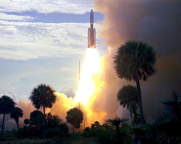 היום לפני 40 שנה, שיגור ויקינג 1. צילום: NASA