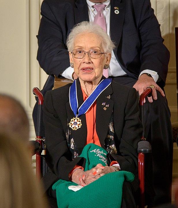 ג'ונסון בטקס הענקת מדליית החירות הנשיאותית. קרדיט: הבית הלבן