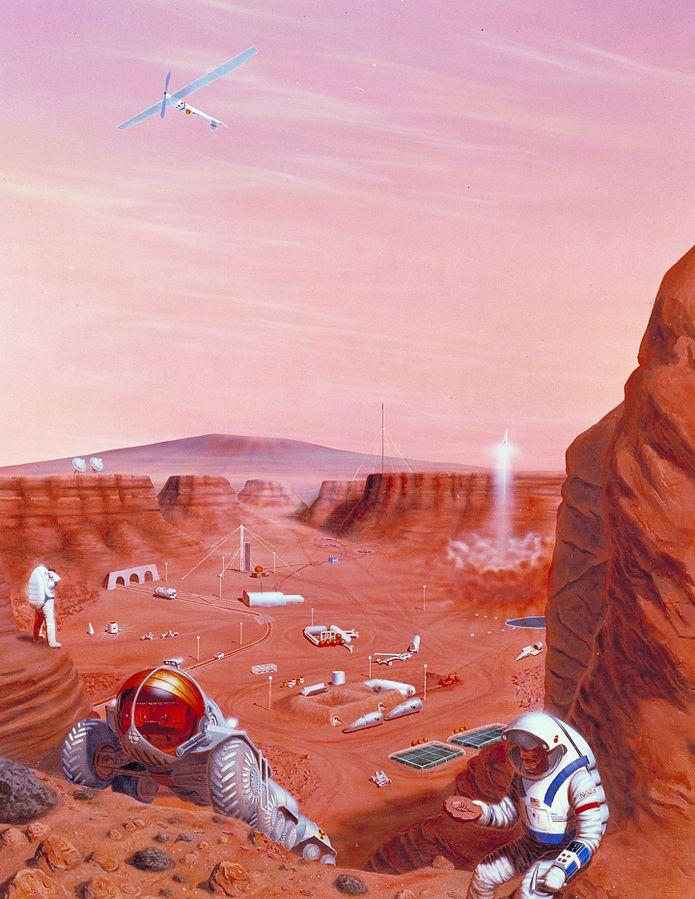 מה יהיה דרוש על מנת להגיע למאדים ולהישאר שם | הדמיה: NASA