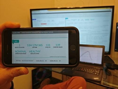 ניו-ספייס במיטבו: המעבדה בחלל, השירותים ישירות לאפליקציה בכף היד | צילום: באדיבות ספייספארמה