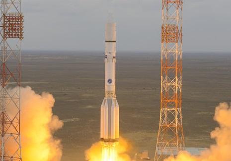 שיגור השלב הראשון של ExoMars | צילום: ESA–Stephane Corvaja, 2016
