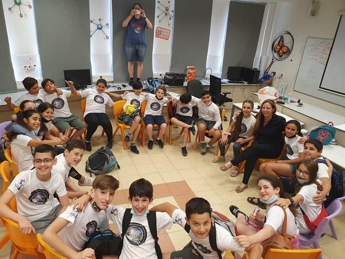 במקום הראשון - בית חינוך שמעון פרס בראש העין