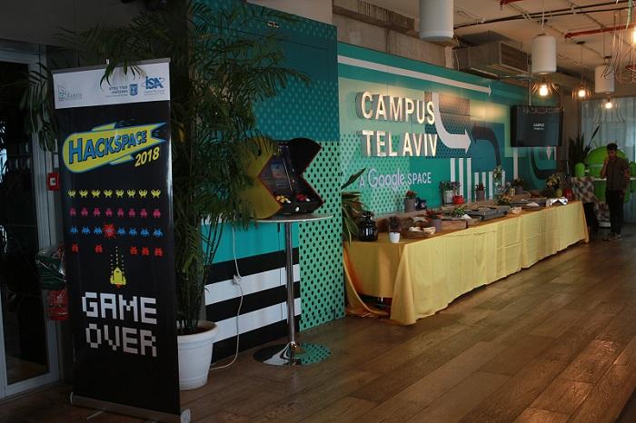 האקתון חלל 2018 בגוגל קמפוס תל אביב