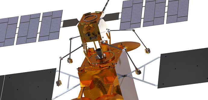 הדמיה של הספייס דרון בפעולה. צילום: Effective Space