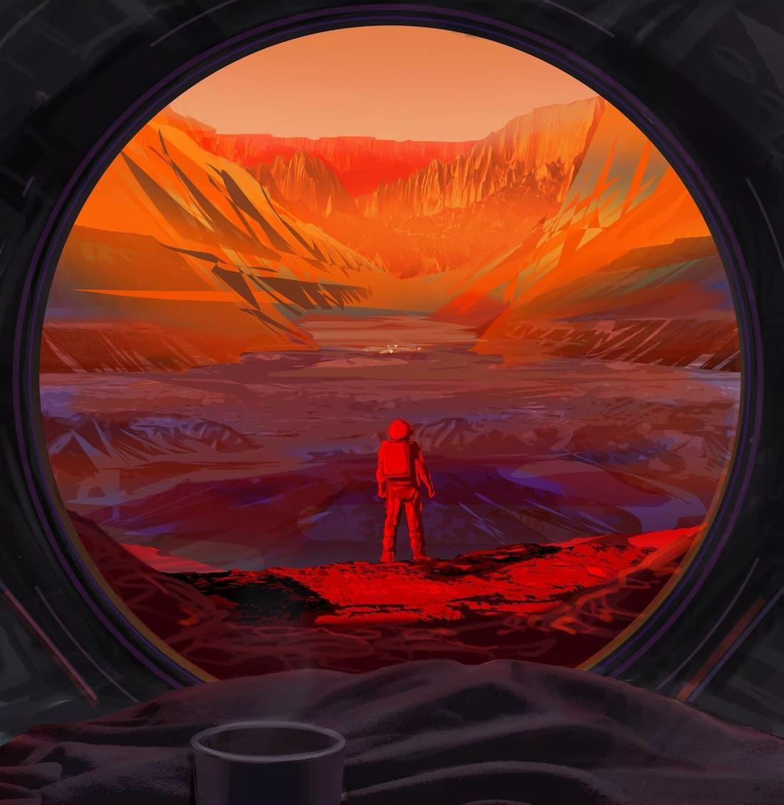 חדר בריחה במאדים