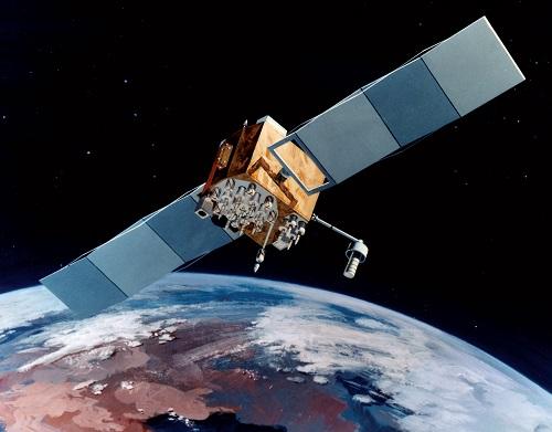 איור של לוויין GPS | קרדיט: NASA