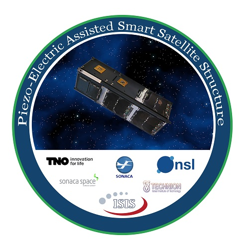 סמל המשימה של לוויין PEASSS | באדיבות NSL Satellites