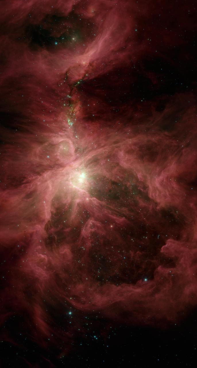 ערפילית אוריון | צילום: NASA/JPL-Caltech/Univ. of Toledo