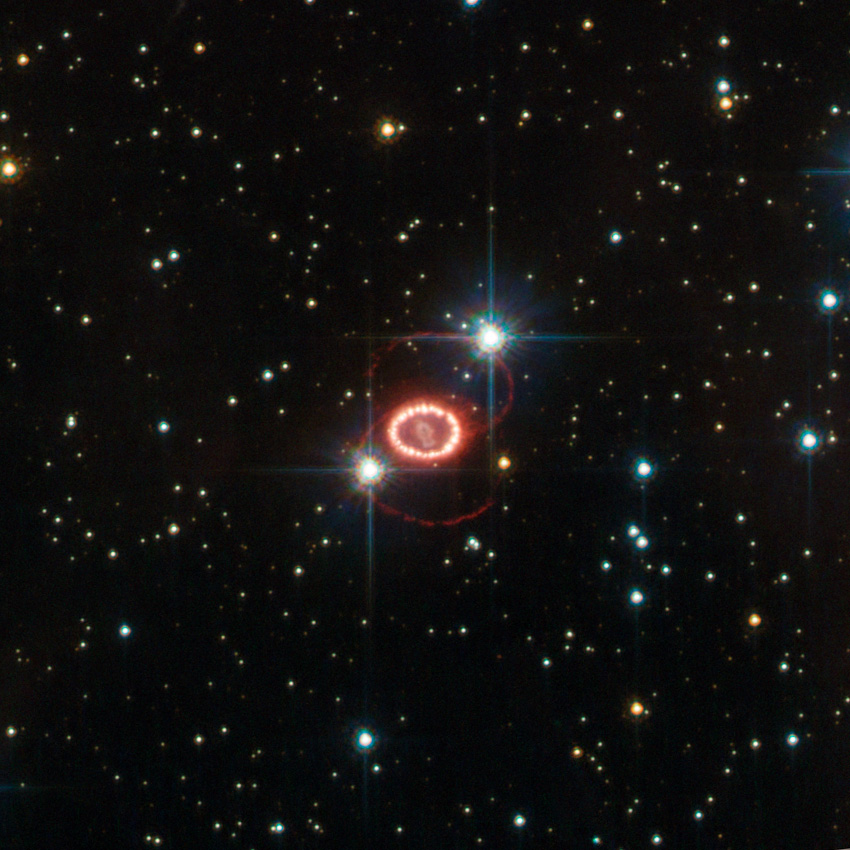 סופרנובה SN 1987A | צילום: NASA