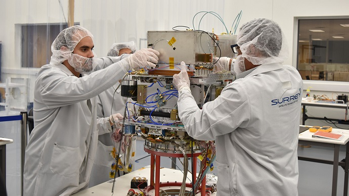 המערכת החדשה. האם כל חללית עתידית שתצא למאדים, למערכת שבתאי או למערכת שמש אחרת תישא שעון שכזה? קרדיט: NASA