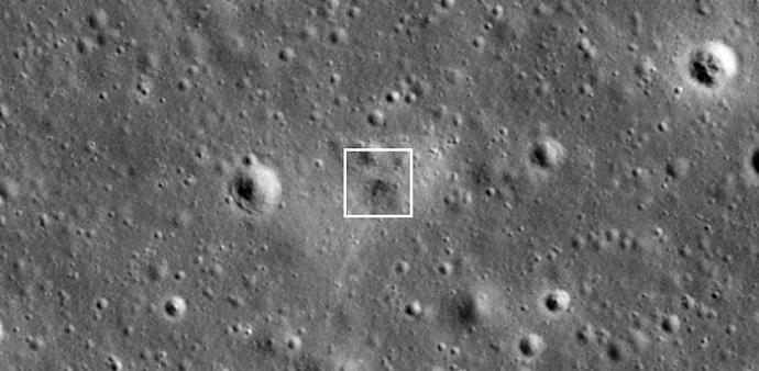 במסגרת: המקום המדויק שבו התרסקה החללית בראשית.