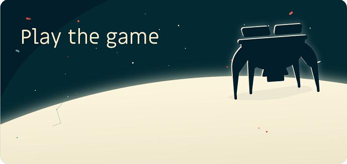 אפליקציית החללית play the game