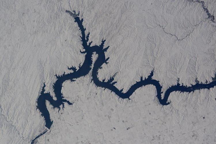 נהר בדרום דקוטה | צילום: Tim Peake
