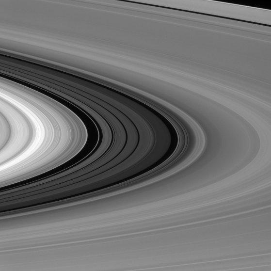 טבעות שבתאי כפי שצולמו על ידי קאסיני בתחילת השנה | NASA/JPL-Caltech/Space Science Institute