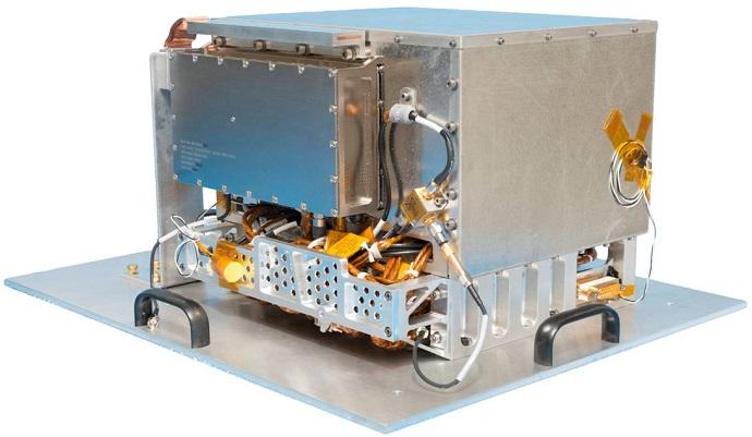 השעון האטומי. בין היתר, המערכת תפעיל שדות מגנטיים עצמאיים וקבועים, שינסו לבטל השפעות חיצוניות על פעולת השעון. קרדיט: NASA