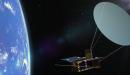 הדמייה של האנטנה פרוסה בחלל | צילום: באדיבות NSL