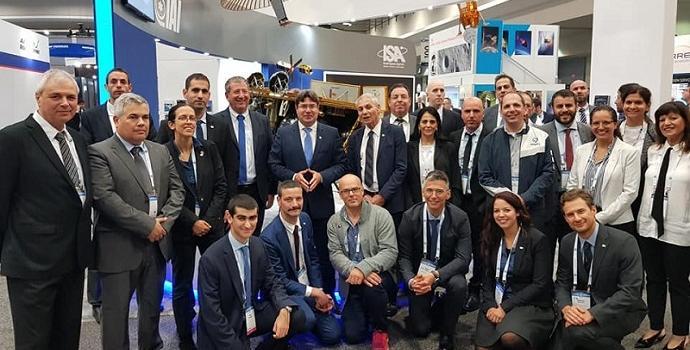 כ-40 נציגים ישראלים בכנס, שמגיעים מהתעשיה, האקדמיה ואוניברסיטת החלל הבינלאומית