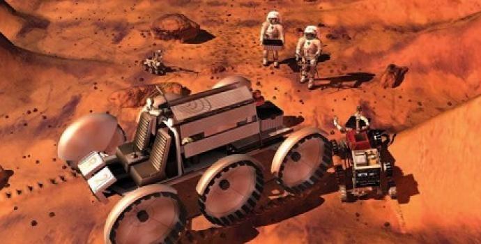 עבודת צוות במאדים