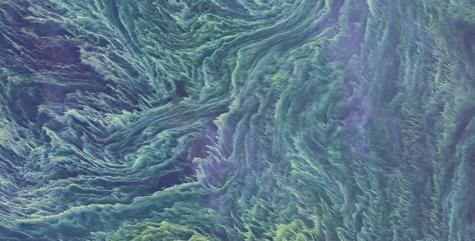 הים הבלטי תחת העננים