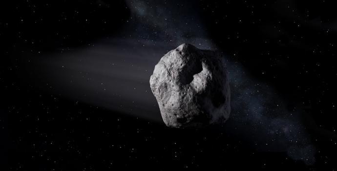 אסטרואיד מתקרב למסלול כדור הארץ סביב השמש | הדמיה: NASA/JPL-Caltech