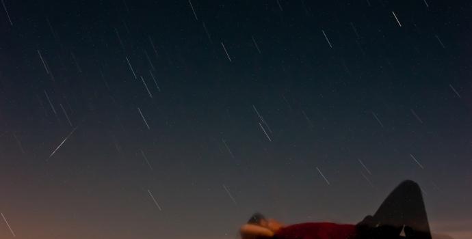זה לא ייראה בדיוק ככה, אבל מטאור אחד בדקה בערך זה הספק מכובד ביותר | קרדיט: Jesse! S? via Flickr