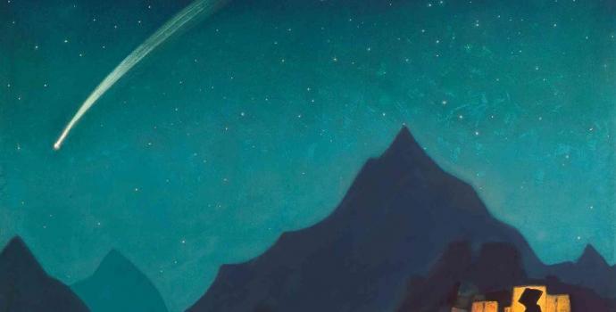 מטאור בשמיים | קרדיט: Nicholas Roerich