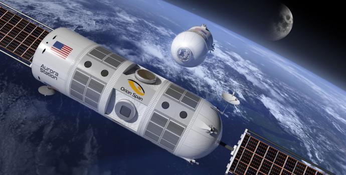 הצצה למלון החלל הראשון