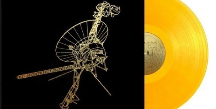 למכירה: עותק של תקליט הזהב שיפגוש בחייזרים