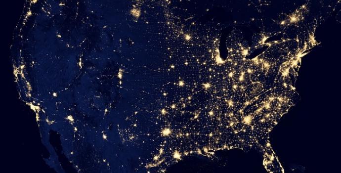 צפו במפת כדור הארץ הלילי החדשה