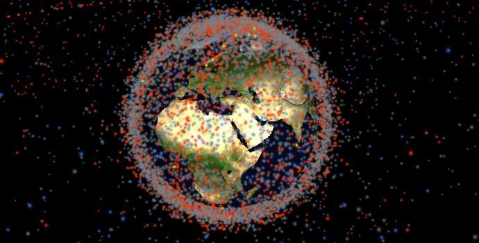 יום כדור הארץ 2018- הדמיה תלת ממדית של כל פיסת זבל חלל