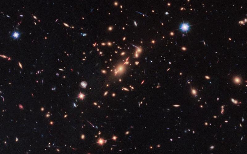 צבעי הכוכבים מעידים על הטמפרטורה שלהם | קרדיט: NASA Goddard