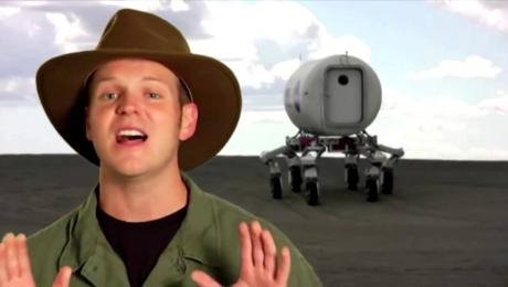 אתלט: כלי הרכב הרובוטי על הירח