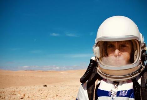 פיילוט במצפה רמון לקראת הדמיית מאדים הבינלאומית | קרדיט: ניב שואו