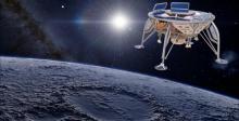 הדמיית החללית הישראלית שתנחת על הירח | SpaceIL