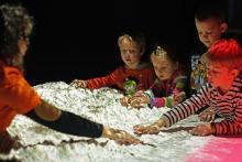 ילדים בכיתת חלל