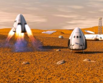 הכוכב האדום קורא לכם: מושבה אנושית במאדים