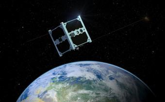 חזית הטכנולוגיה הלוויינית: ננו-לוויין | אילוסטרציה: Taavi Torim