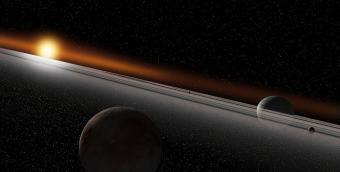 מערכת שמש זרה | Ron Miller/NASAblueshift