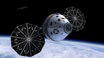 החללית אוריון | אילוסטרציה: NASA