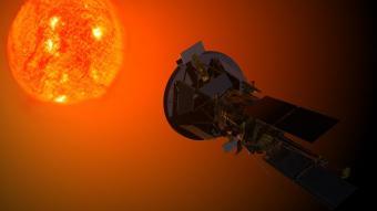 הדמיית החללית Parker Solar Probe מתקרבת לשמש | NASA