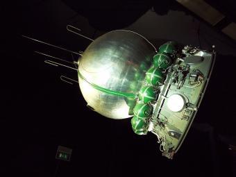 שחזור של חללית ווסטוק 1, החללית של יורי גגארין | צילום: Pline