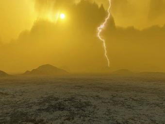 מזג האוויר בנוגה סוער עד כדי כך, שהוא משפיע על מהירות סיבוב הפלנטה כולה | אילוסטרציה: ESA/J. Whatmore